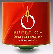 Cafe Prestige Medalla de Oro Descafeinado